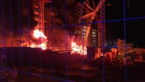 ألمانيا : إضرام النار في مبنى قيد الإنشاء .. و السلطات تكشف عما تشير إليه الأدلة