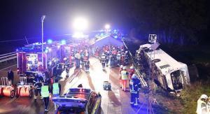 ألمانيا : حادث سير مروع يؤدي لإصابة العشرات